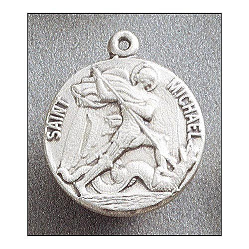 Saint Michael Medal In Sterling Silver