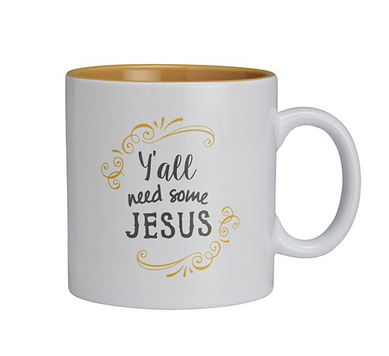 Mug-Y'all Need Some Jesus 25Oz