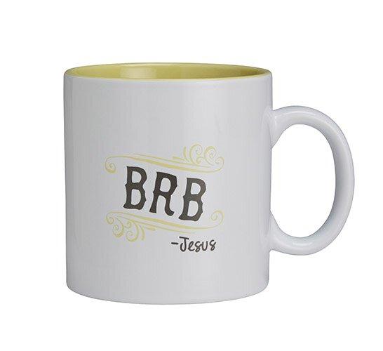 Textify BRB Mug