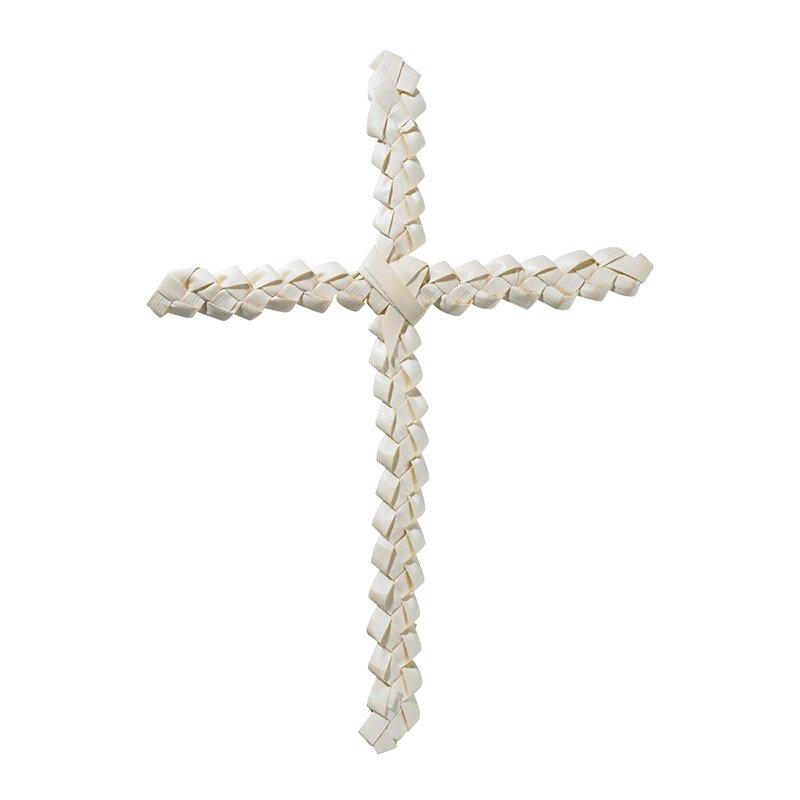 Braided Palm Cross - 24/pk
