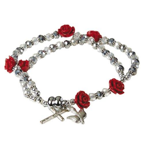 Confirmation AB Crystal Rosary Bracelet