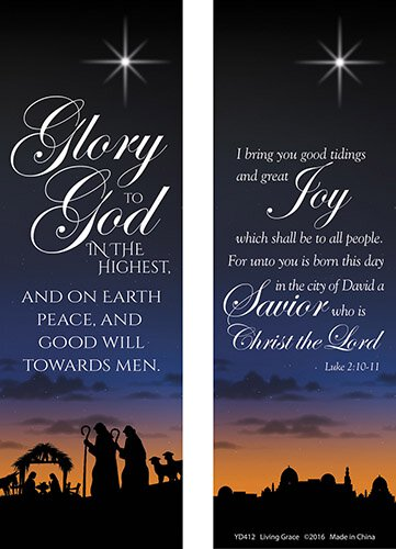 Glory to God in the Highest Bookmark - 100/pk