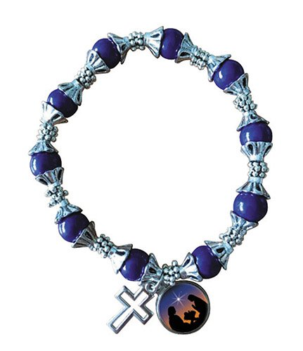 Nativity Beaded Bracelet - 12/pk