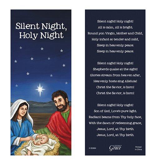 Silent Night, Holy Night Bookmark - 36/pk