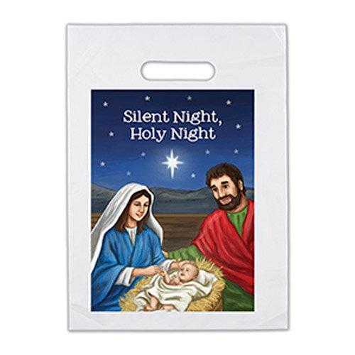 Silent Night, Holy Night Goodie Bag - 12/pk
