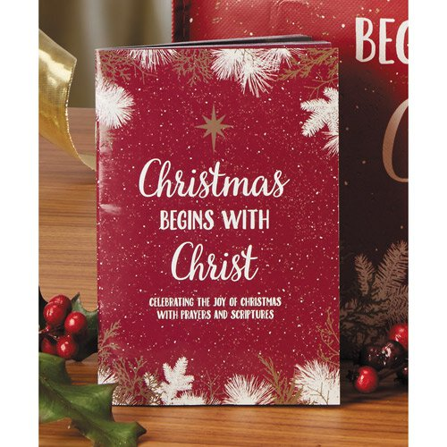 Christmas Begins with Christ Book - 12/pk