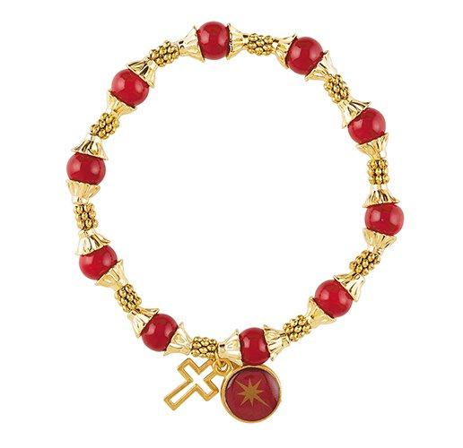 Christmas Begins with Christ Beaded Bracelet - 12/pk