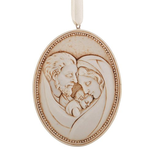 Holy Family Ornament - 12/pk
