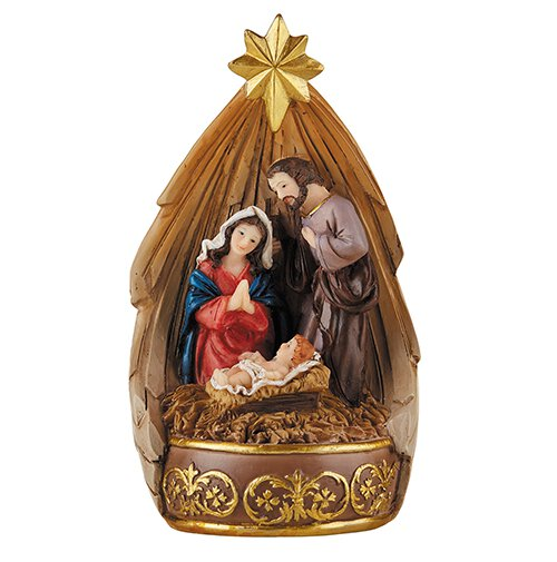 Nativity LED Lighted Figurine - 2/pk