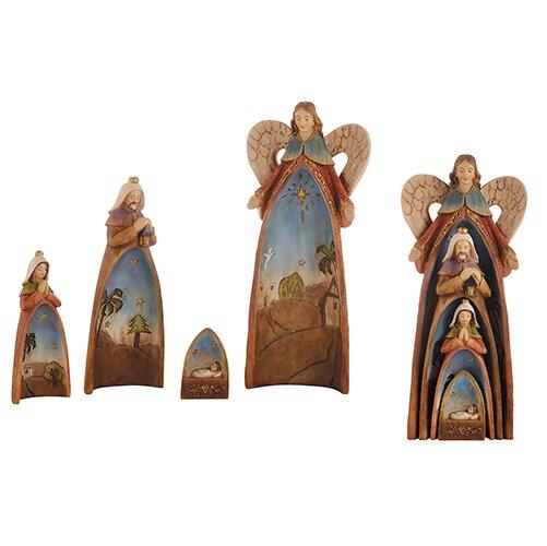 Four-Piece Nesting Nativity Set