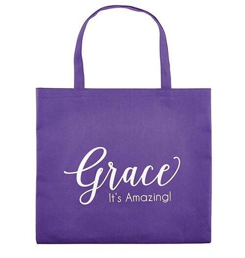 Grace, It's Amazing Tote Bag - 12/pk