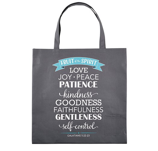 Fruit of the Spirit Tote Bag with Pen Pockets - 12/pk