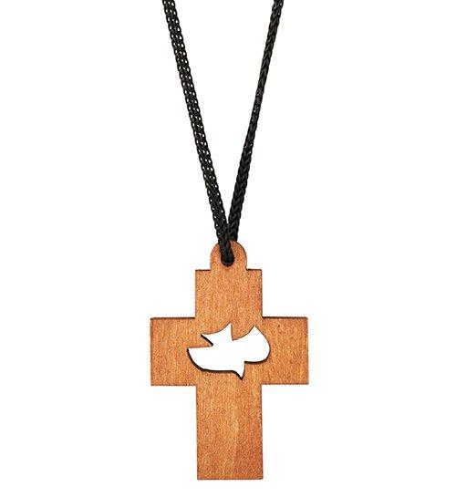 Holy Spirit Cross Pendant - 24/pk