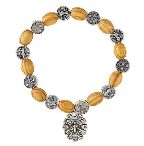 St. Benedict Medals Bracelet - 12/pk