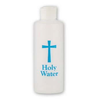 6 oz. Holy Water Bottle - 12/pk
