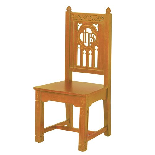 Florentine Collection Side Chair - Medium Oak