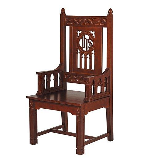 Florentine Collection Celebrant Chair - Walnut