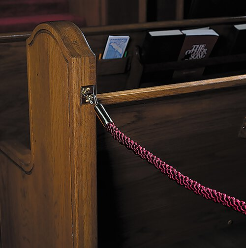 Permanent Pew Rope