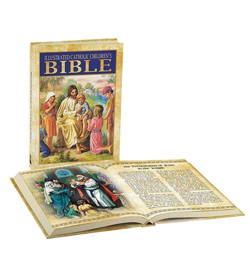 Illustrated Catholic Children's Bible - Hardcover