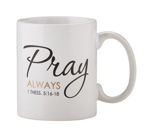 Pray Always Mug - 6/pk