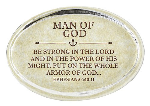 Paper Weight Man of God-Ephesians 6:10 - 11