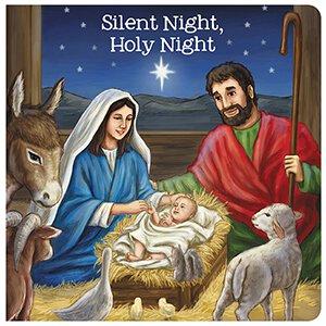 Silent Night, Holy Night Board Book - 12/pk