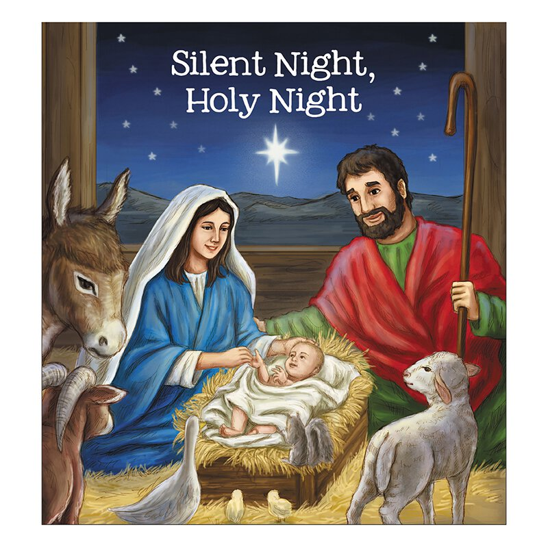 Silent Night, Holy Night Story Book - 12/pk