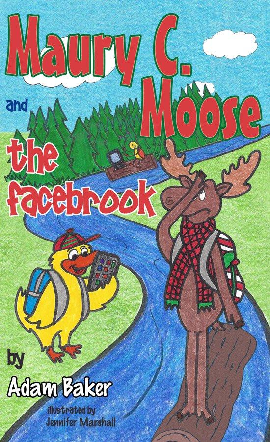Maury C Moose The Facebrook