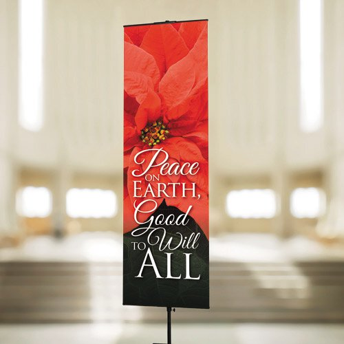 Peace on Earth, Good Will to All Banner