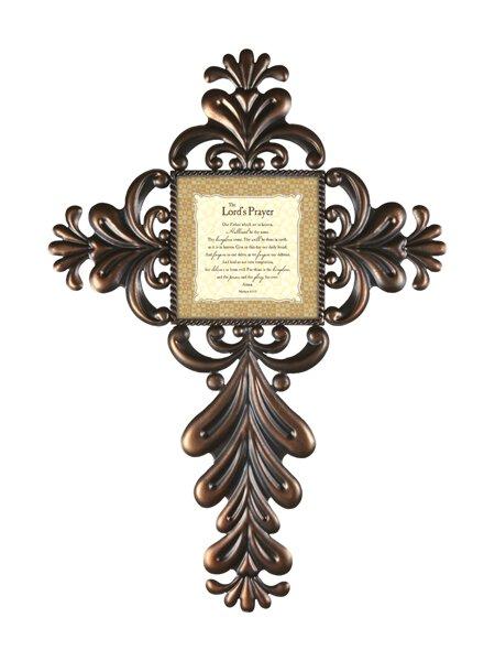 Jim Shore- The Lord's Prayer- Metal Wall Cross