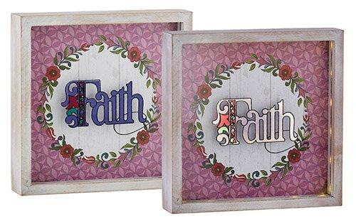 Jim Shore - Faith - Light Box