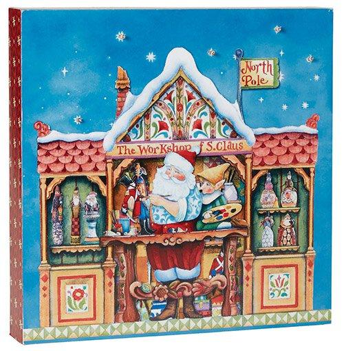 Santa's Workshop Light Box