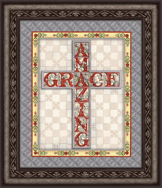 Jim Shore- Amazing Grace- Wall Art