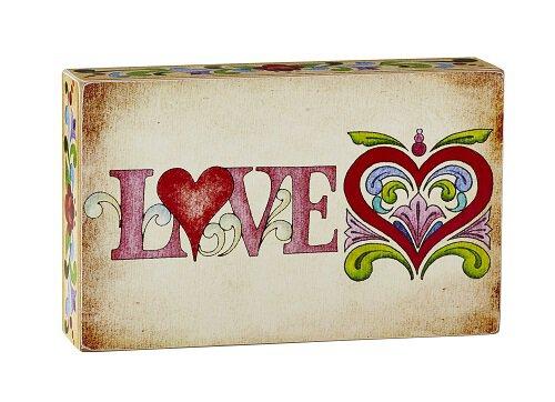 Jim Shore - Love - Box Sign