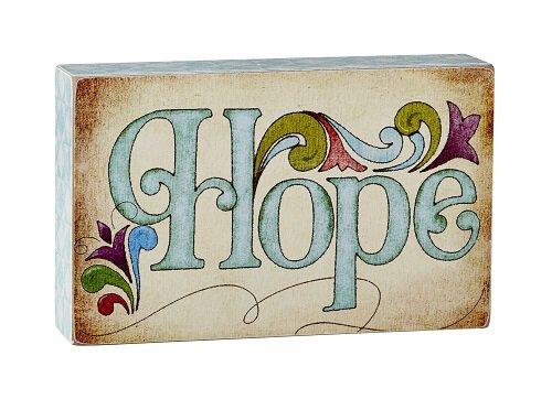 Jim Shore - Hope - Box Sign