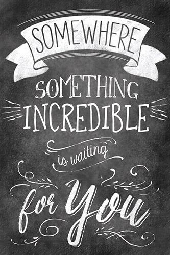 Just Because- Something Incredible Postcard