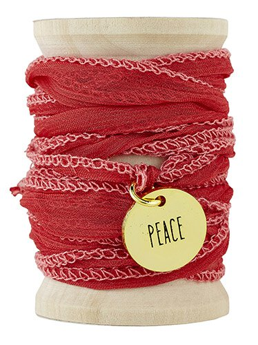 Peace Threads Of Life Wrap Bracelet
