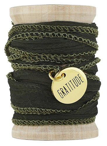 Gratitude Threads Of Life Wrap Bracelet