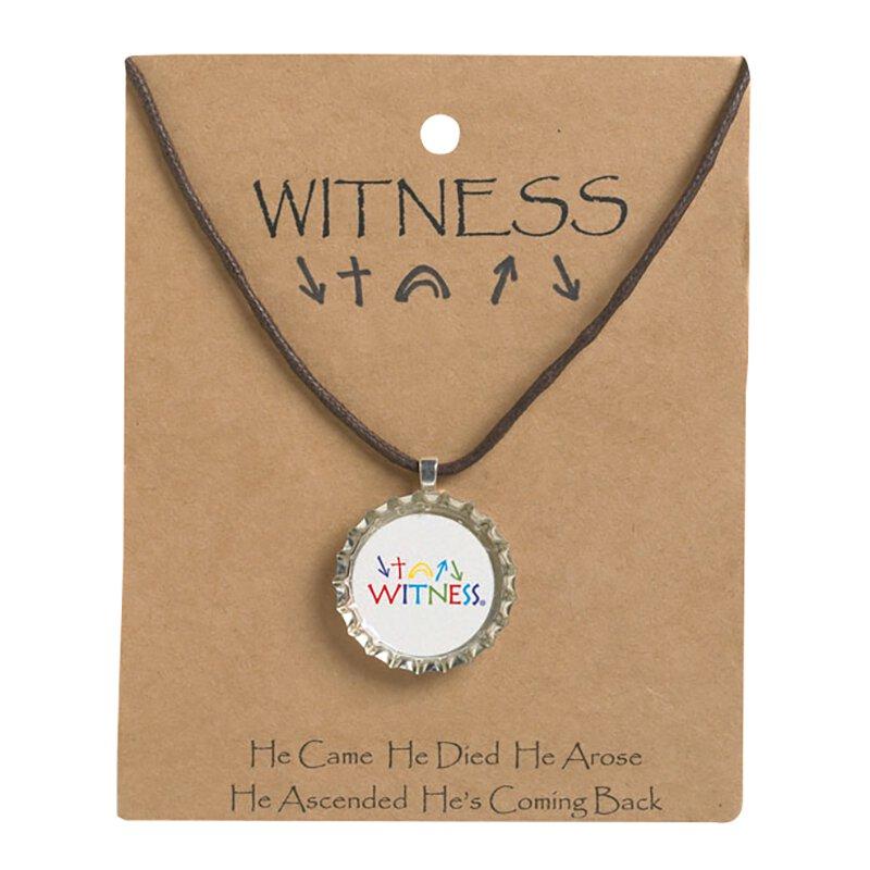 Witness Kids Bottle Cap Necklace