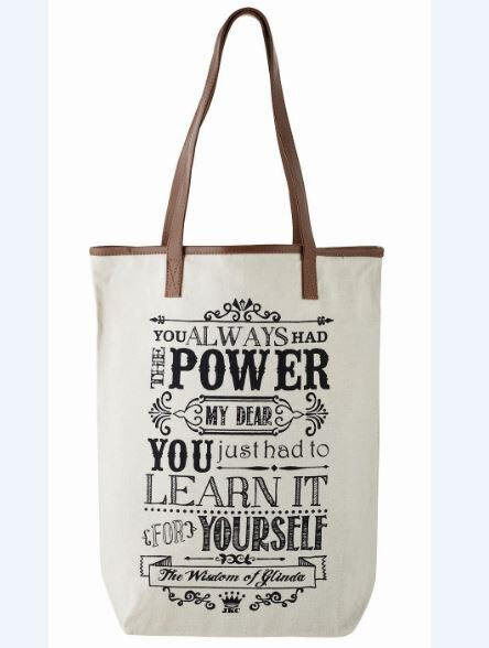 The Wisdom of Glinda Tote Bag - You Always Had the Power