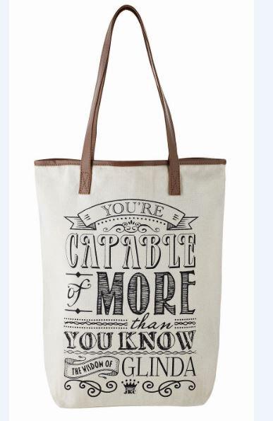 The Wisdom of Glinda Tote Bag - You're Capable