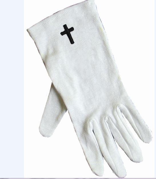 Cotton Gloves: Cross