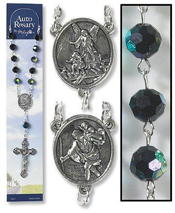 Black Auto Rosary