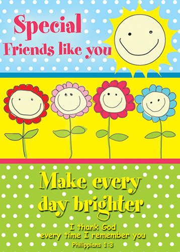 Verse Cards Special Friends