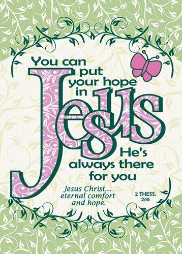 Verse Cards Hope in Jesus