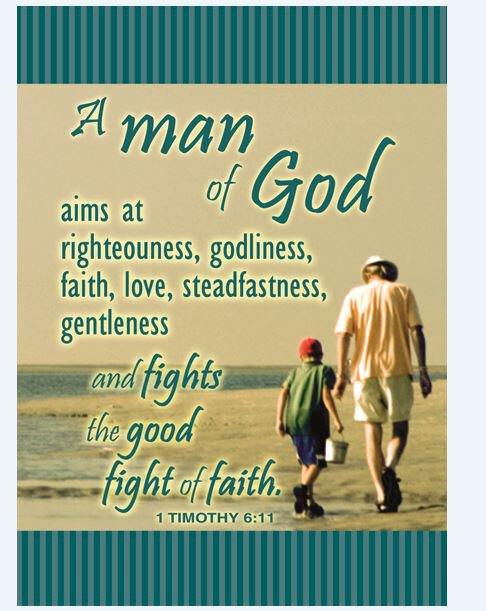 Verse Card Man Of God