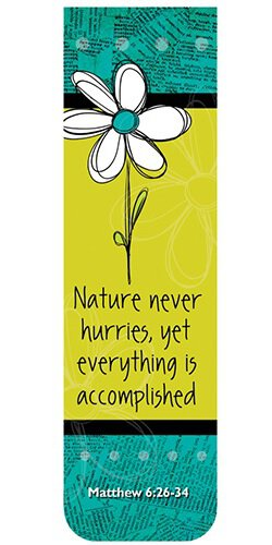 Magnetic Bookmarks Nature Never Worries