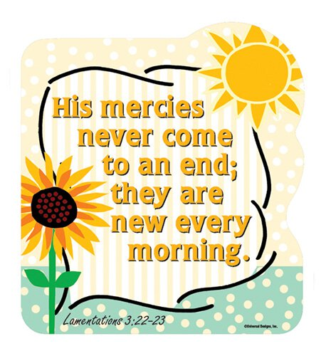 Shape Magnets His Mercies Never