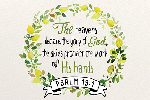 Pass It On: Heavens Declare