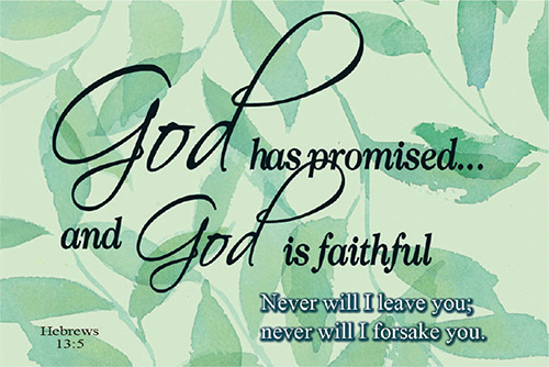 Pass It On: God Has Promised